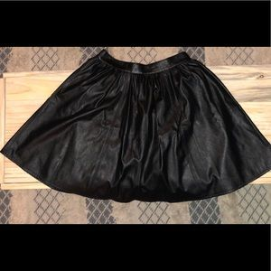 Faux Leather Skirt by Decree ♥️